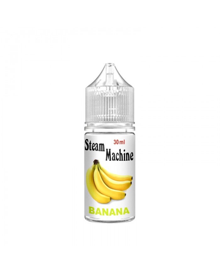 Рідина Steam Machine Banana 30 мл