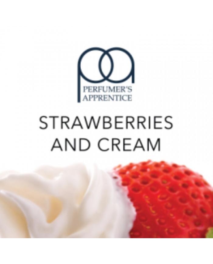 Ароматизатор TPA Strawberries and Cream 10 мл