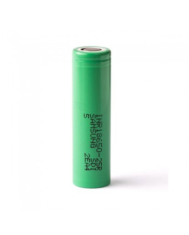 Аккумулятор Samsung 25R INR 18650 2500 mAh 20A