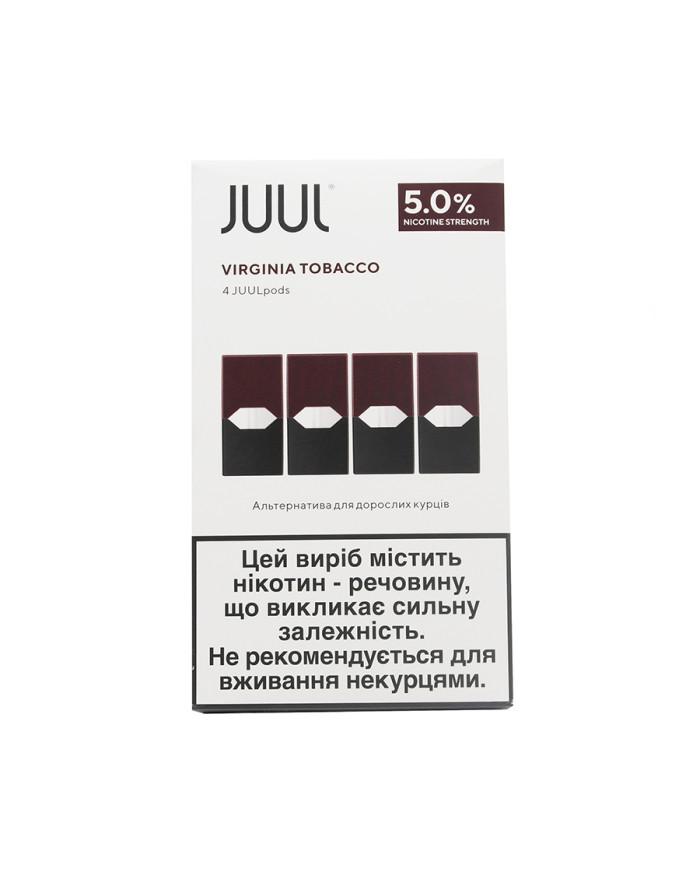 Картридж Juul Pods Virginia Tobacco 4 шт
