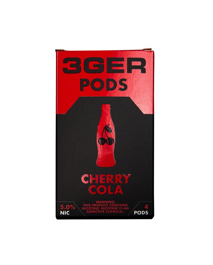 Картридж 3Ger Pods Cherry Cola 4 шт
