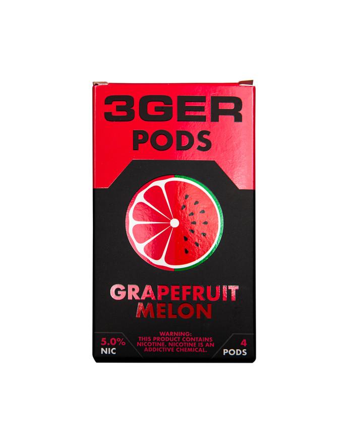 Картридж 3Ger Pods Grapefruit Melon 4 шт