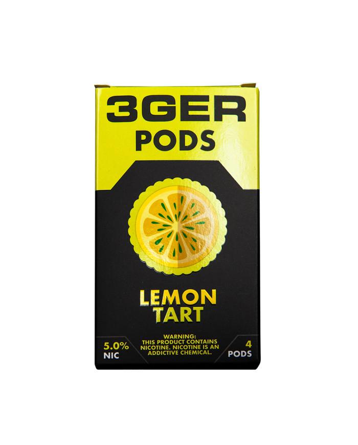 Картридж 3Ger Pods Lemon Tart 4 шт