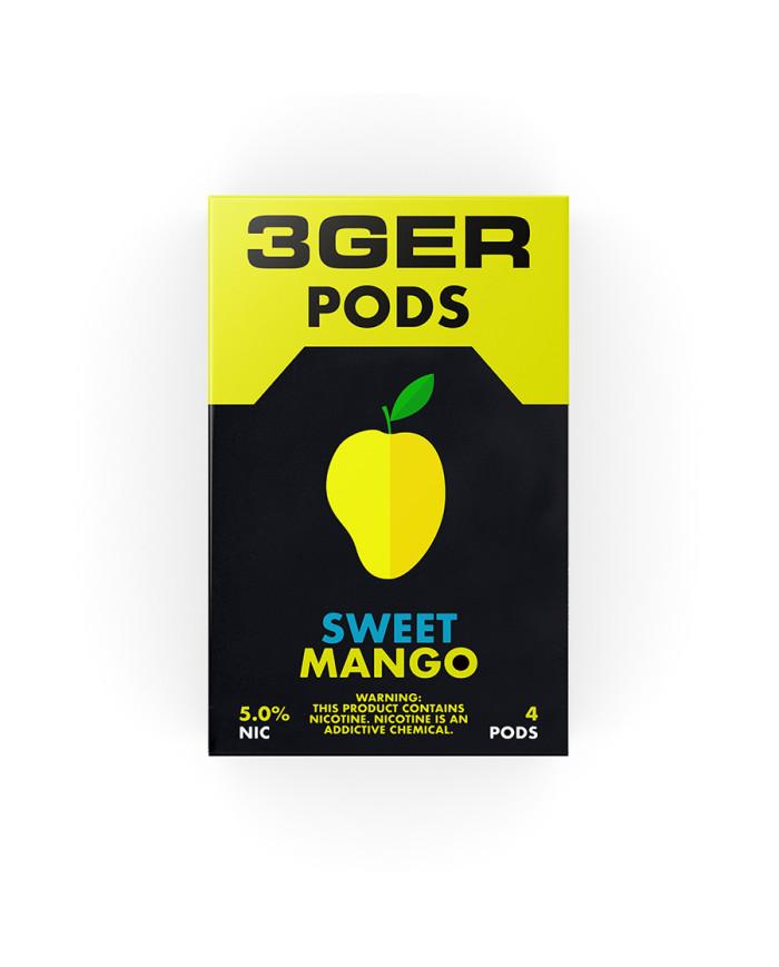 Картридж 3Ger Pods Sweet Mango 4 шт