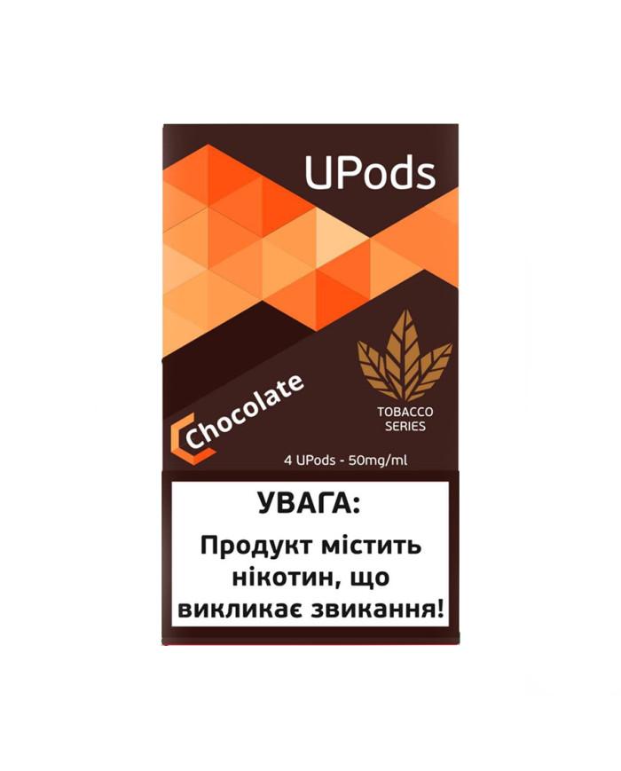 Картридж Upods Tobacco Series Chocolate 4 шт