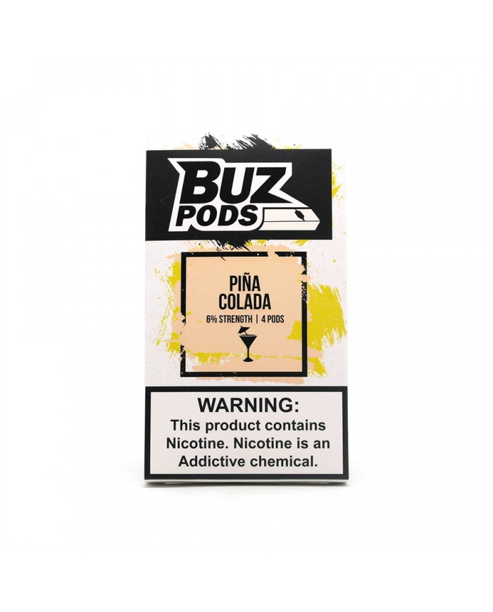 Картридж BUZ Pods Pina Colada 4 шт